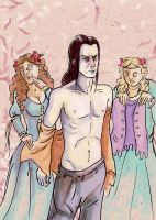 Roose Bolton's Wedding by kethryn