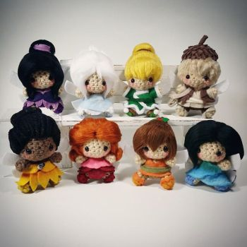 Disney Fairies Amigurumi Set by AnyaZoe