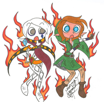 We're on Fire! 8D by LindsayLatte