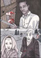 Night of the Living Dead cards by angelacapel