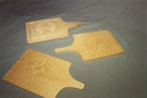 Decorative cutting boards . by JARM13