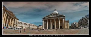 place des grands hommes by bracketting94