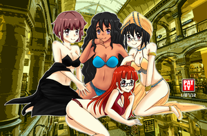AT with ~Toshinden-fanclub Fantastic 4 by patinum