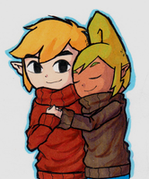 TeLink: Sweaters by Icy-Snowflakes