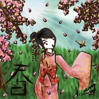 Blossoms of Spring by Cruzerchic123