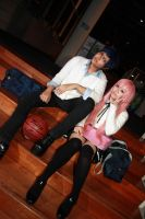 Kurobasu - Aomine x Momoi by Xeno-Photography