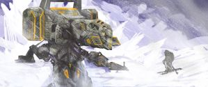 snow mech one by krassnoludek
