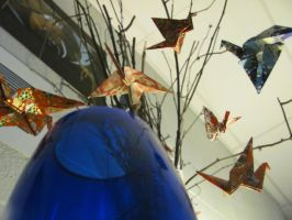Photography - Paper Cranes #4 (Focus All) by watermelemon