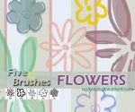 PS Brushes - Flowers by rush-rock