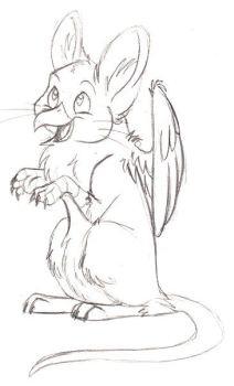 WIP - Griffin Mouse by Gato-Sama