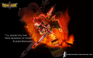 Elesis of Grand Chase by Christophere13