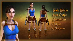 TR Lara Croft Adventurer Outfit by Shyngyskhan