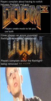 Scumbag DOOM fans by Eternal-Dahaka