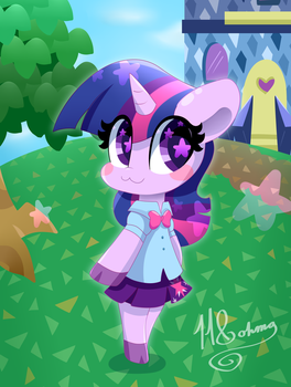 Animal Crossing: Twilight has moved in! by HungrySohma16