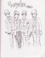 Gangster Panic Inked by MissLey