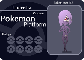 cascoon battle card - Lucretia