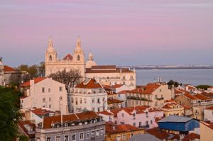 Sunset in Lisbon by SaskiaAnnerie
