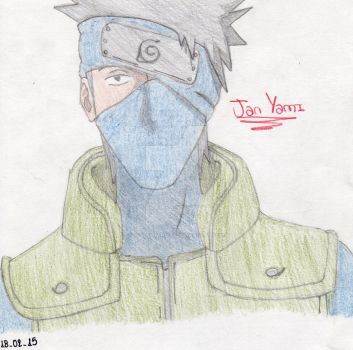 Kakashi Hatake by 97stephanie97