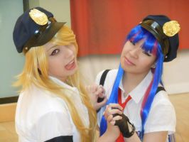 Cop Panty and Stocking by Rachelroseanne