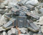 Battletech-Scale Turret by shiberude