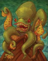 Maritime Monsters: Krakken by Kravenous