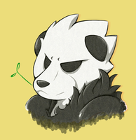 Pangoro by AnimezingArtist