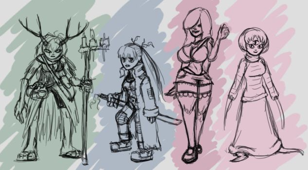 just some scribbles 3 waifu edition1 by Node-Gamer