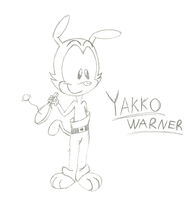 Yakko Warner sketch by nightfright9