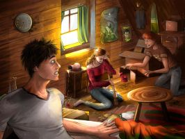 The Telescope. Contest winner~! :D by MakingPicsSlowly