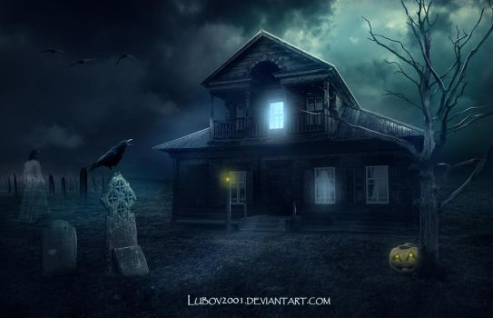 Haunted house by Lubov2001