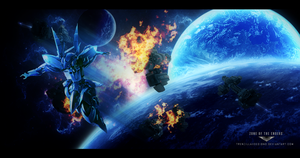 Zone of the Enders: Defender of Earth by TrenzillaXDesigns
