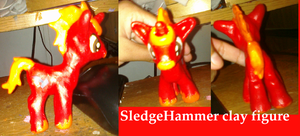 Sledgehammer figure my boyfriend OC by AshleyFluttershy