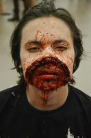 Ripped mouth. by fontenelefx
