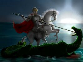 saint George by nino4art