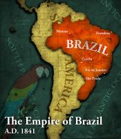 Civilization 5 Map: Brazil by sukritact