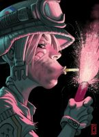 Tank Girl by scuttered
