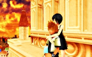 Don't be sad, my sweet Roxas... by Paopoupowa