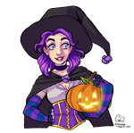 Witchy Abigail from Stardew Valley by CPatten