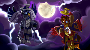 AT: Nightmare Night is for the owls by H-StallionWolf
