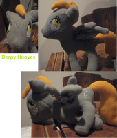Derpy Plush by FungalZombieX