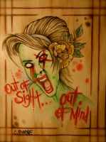 Out Of Sight... Out Of Mind by itchysack