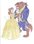 Disney Beauty and the Beast by ErikAngelofMusic