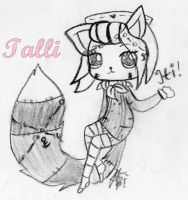 Talli (Charcoal Practice) by IreinicFantasy