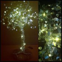 Wire tree with LED lights! by etodorut