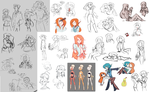 is this the 8th sketchdump so far I can't tell by Cranberry-Soap