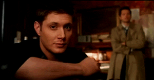 Dean and Cas Gif by RedWolfMoon666