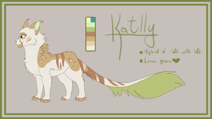 Katlly [ArtTrade] by KittyWinder74