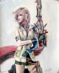 Lightning - Final Fantasy XIII by Kiranami718q