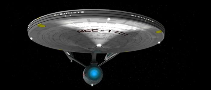 USS Enterprise by ANDY1701A
