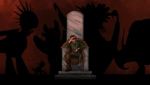 King of the Wilderwest: GIF animation by Elfpen